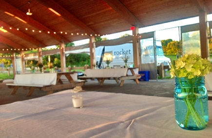 Wedding Reception / Ft. Getty Park, Jamestown, Rhode Island