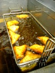 Beignets Frying