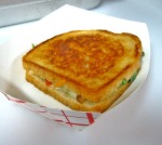 Grilled Cheese With Organic Arugula, Nitrite-Free Bacon and Vine-Ripened Tomato