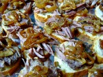 Pork Confit with Caramelized Onion