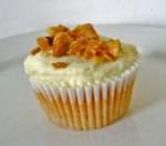 Sweet Potato Macadamia Cupcake