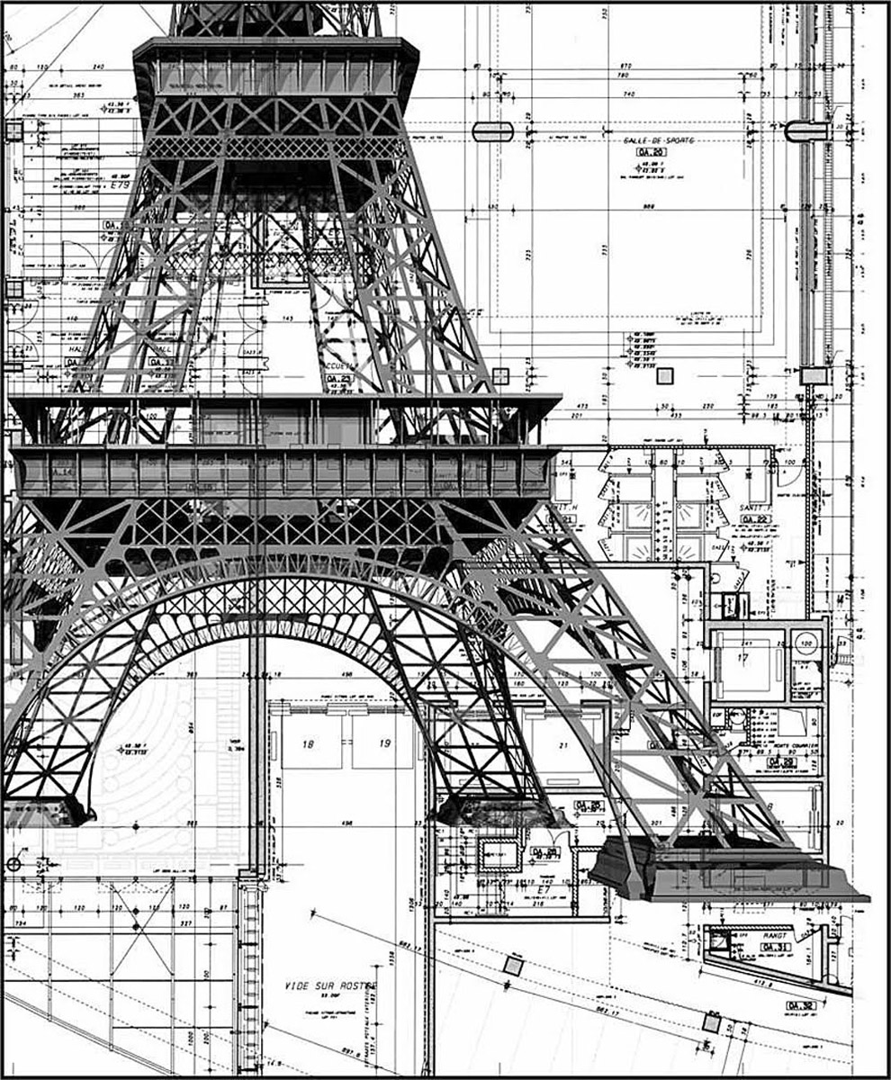 The Eiffel Tower Is 122 Years Old Today       Croque