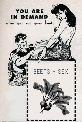 beets = sex