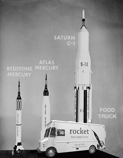 MODELS OF SATURN C-1: ATLAS MERCURY: AND REDSTONE MERCURY