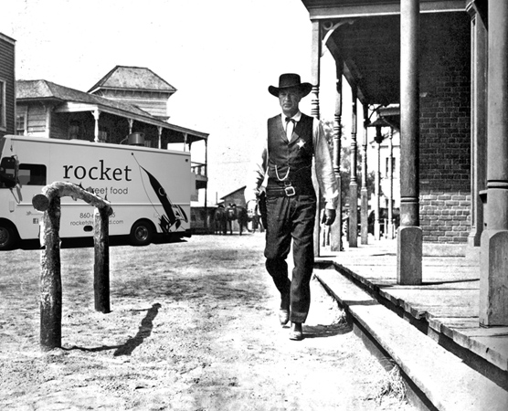 rocket in high noon