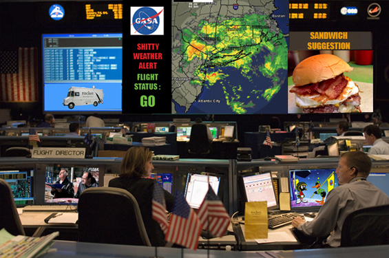 mission control shitty weather A