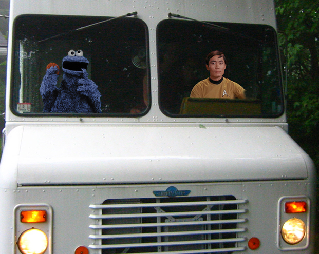 sulu cookie monster