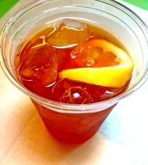 Rocket-Brewed Iced Tea