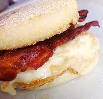 Bacon, Egg, and Cheese Muffin